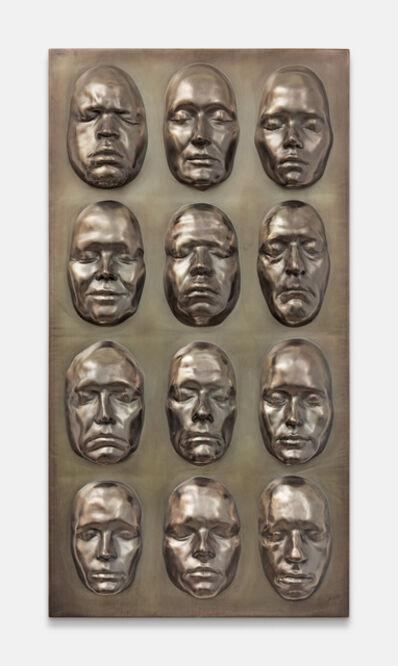 Oliver Laric, 'Life Masks', 2016