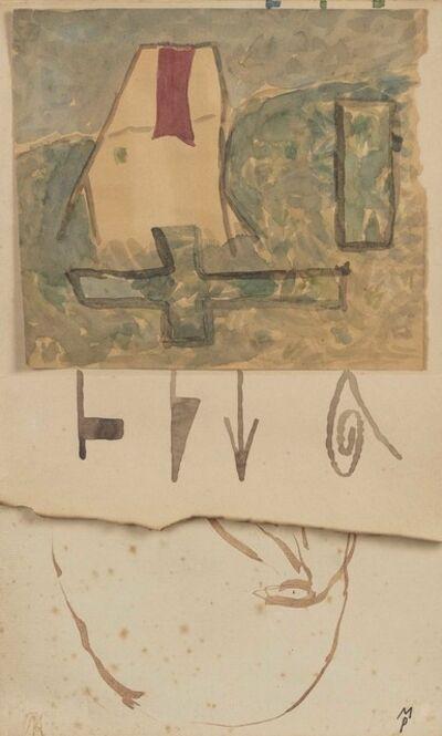 Mimmo Paladino, 'Composition', 1986