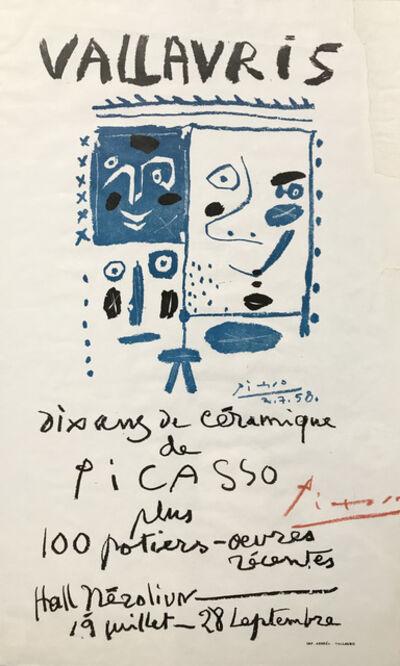 Pablo Picasso, 'Dix ans de Céramique', 1958