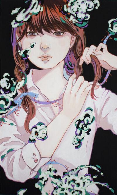 Ayako Yonemitsu, 'Girls fight, wearing cute. Braid', 2019