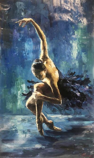 Elena Bond, 'Blue Swan'