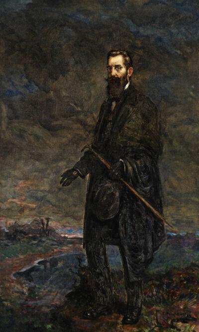 Leopold Pilichowski, 'Portrait of Theodore Herzl', Undated
