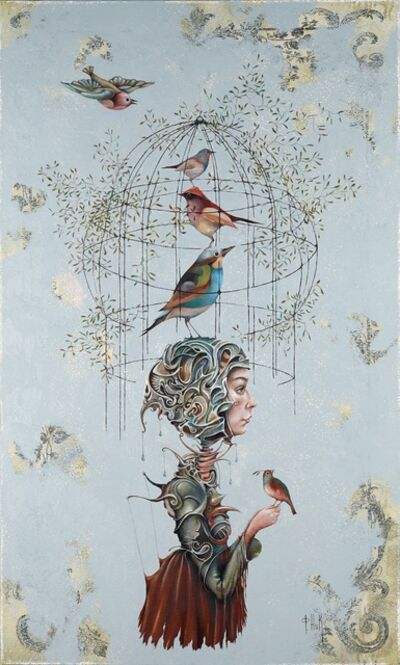 Nick Fedaeff, 'Birds and Blues', 2014