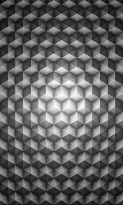 Joanie Lemercier, 'Motif 218 Cubes', 2015