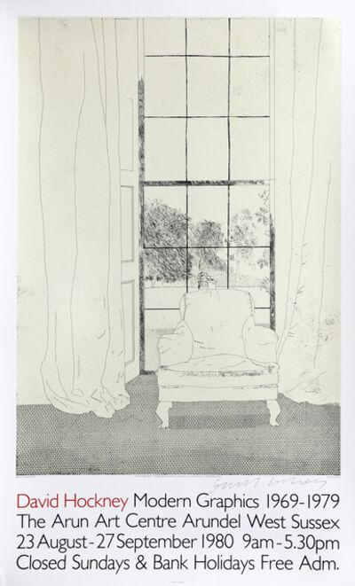 David Hockney, 'David Hockney Modern Graphics 1969-1979', 1980