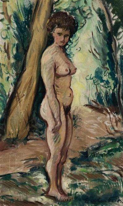 Achille Emile Othon Friesz, 'Femme Nu dans un Sous-Bois'