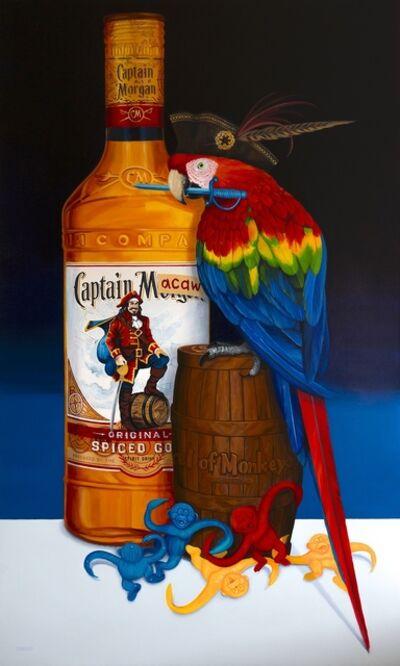 Kathy Traeger, 'Captain Macaw', 2021