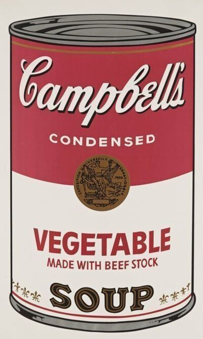 Andy Warhol, 'Campbell's Vegetable Soup', 1968