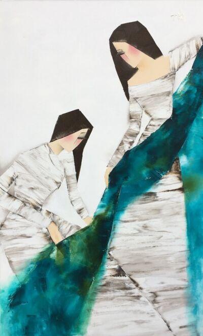 Nguyen Dieu Thuy, 'The Green Cloth', 2017
