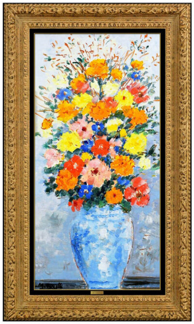 Michele Cascella, 'Bouquet of Flowers with Chinese Vase Original', 20th Century