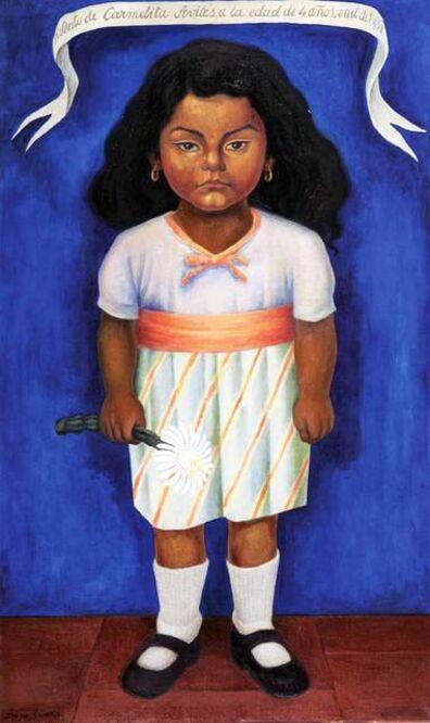 Diego Rivera, 'Retrato de Carmelita Aviles ', 1937