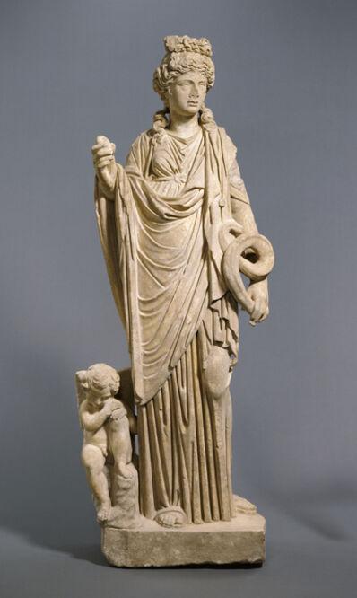 'Statue of Aphrodite - Hygieia with Eros', 200 -250