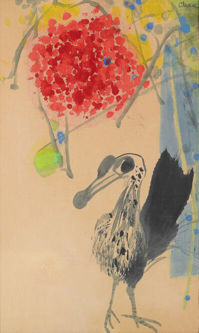 Chao Chung-hsiang 趙春翔, 'Bird and Flowers', 1968