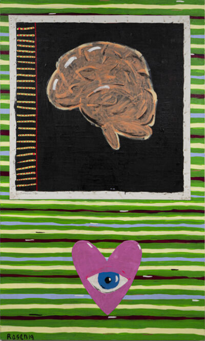 Elad Rosen, 'The Eye, the Brain and the  Heart', 2019