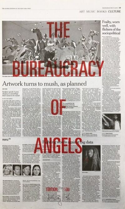 Adam Broomberg & Oliver Chanarin, 'The bureaucracy of angels', 2013