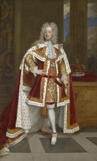 Sir Godfrey Kneller, 'George II (1683-1760) when Prince of Wales  ', 1716