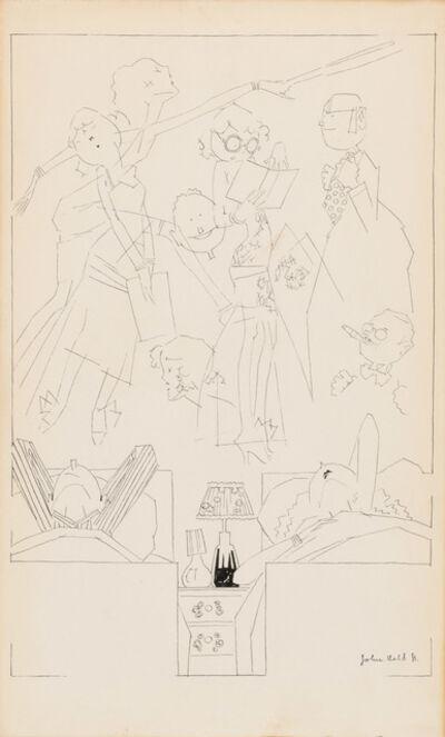 John Held Jr., 'Nocturne', 1920
