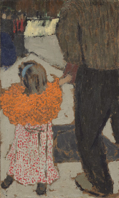 Édouard Vuillard, 'Child Wearing a Red Scarf', ca. 1891