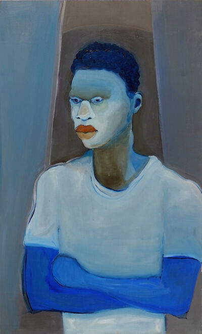Richard Butler-Bowdon, 'Blue Paul/ Black Paul', 2016