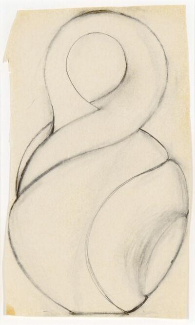 Christine Nofchissey McHorse, 'Untitled Drawing (Twist)', 2000