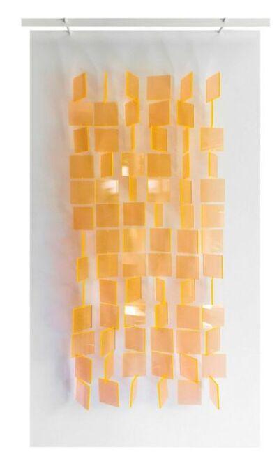 Julio Le Parc, 'Mobile translucide orange', 2017