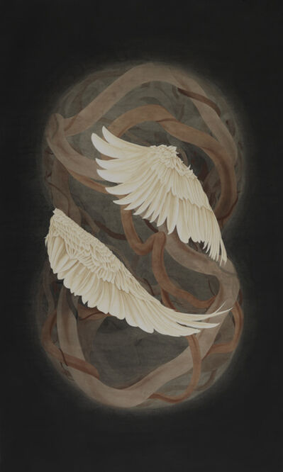 Kang Chunhui, 'LEAD AND THE SWAN', 2019