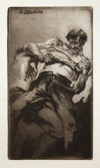Edgar Chahine, 'Croc en jambe', 1904
