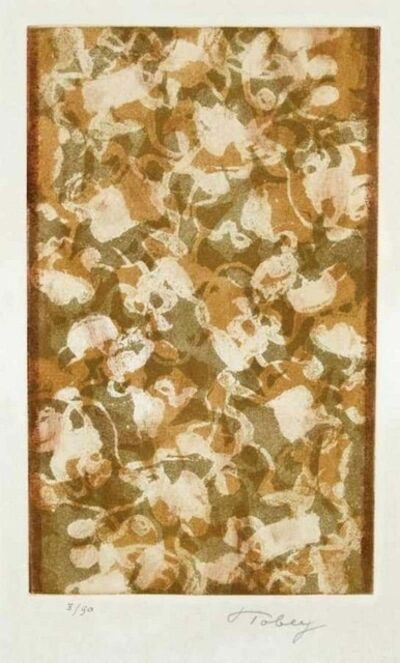 Mark Tobey, 'Golden Days', 1974