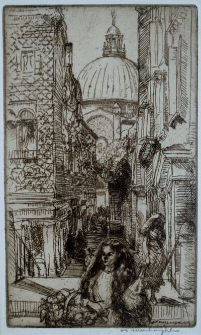Donald Shaw MacLaughlan, 'The Salute, Venice', 1909