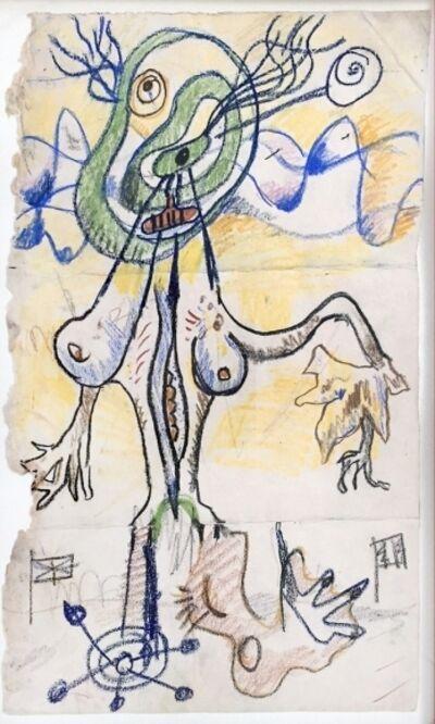 Kurt Seligmann, 'Surrealist Standing Female Figure', 1958-1960