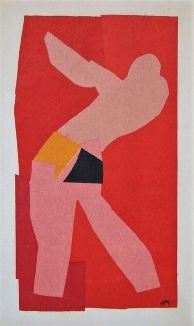 Henri Matisse, 'The little dancer', 1961