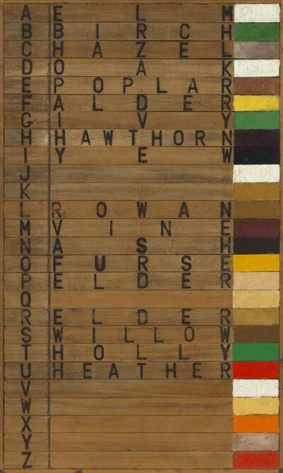 Joe Tilson RA, 'Tree Alphabet', 1973