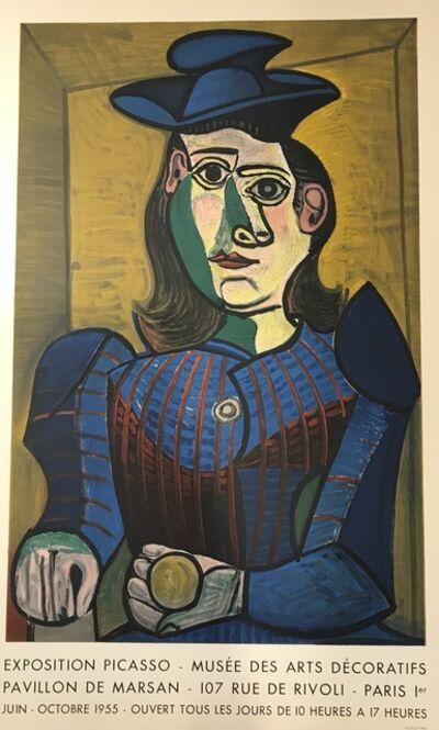 Pablo Picasso, 'Buste de Femme au Chapeau Bleu - Musee des Arts Decoratifs', 1955