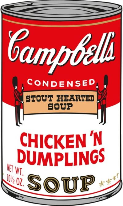 Sunday B. Morning, 'Soup Can (Chicken 'n Dumplings)', 2015