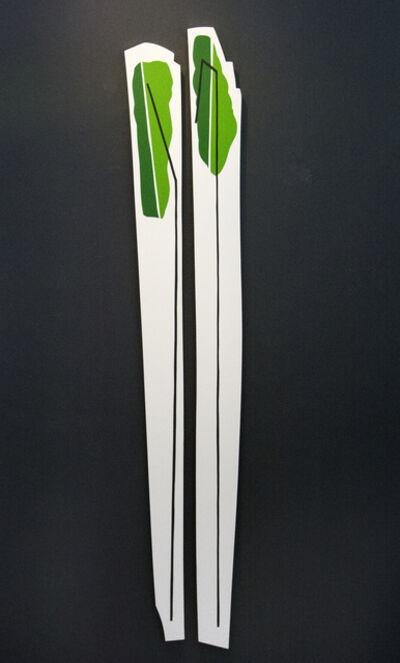 Aron Hill, 'Tall Grass-Like Objects 1 & 2', 2017