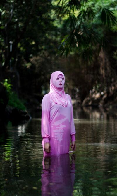 Agan Harahap, 'Mustaqim Swimwear (Pink)', 2019