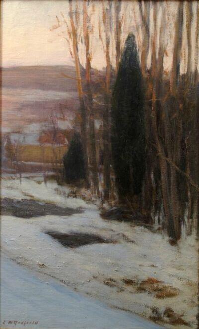 Edward Willis Redfield, 'Winter Cedars', 1900