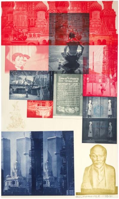 Robert Rauschenberg, 'Soviet/American Array I', 1988-1989