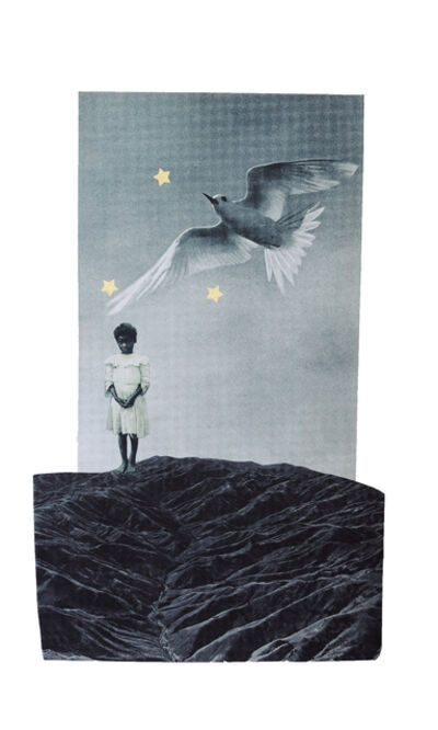 Christa David, 'upon this rock, love wins. always', 2020
