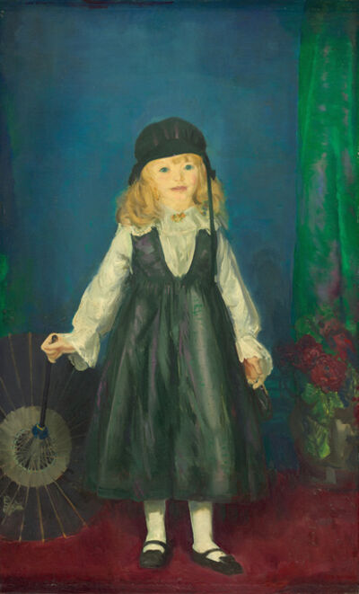 George Wesley Bellows, 'Anne with a Japanese Parasol', 1917