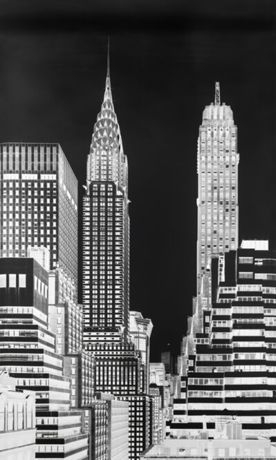Vera Lutter, 'Chrysler Building, XVI: June 30', 2016