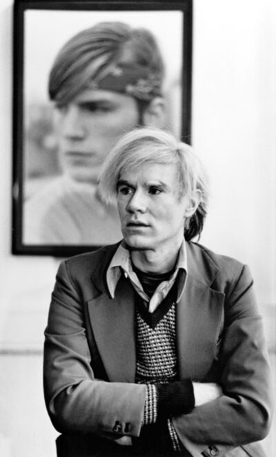 Michael Childers, 'Andy Warhol in his New York Studio, No. 1', 1976