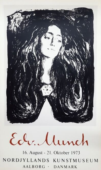 Edvard Munch, 'Madonna (Eva Mudocci: The Brooch)', 1973