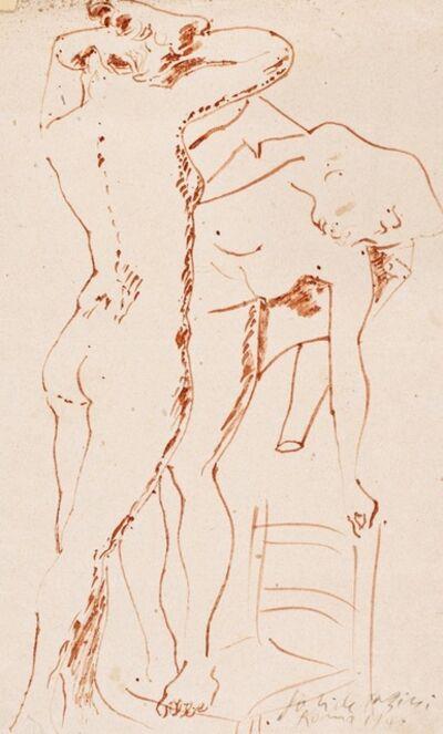 Pericle Fazzini, 'Figure', 1946