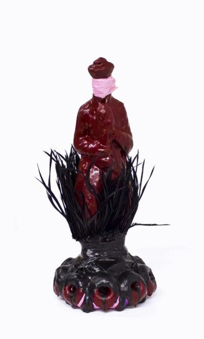 Sanford Biggers, 'Untitled (Red Latex Figurine)', 2010