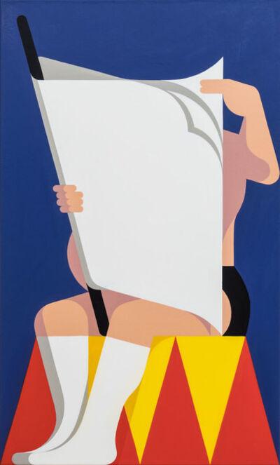 Leonhard Hurzlmeier, 'Acrobat Taking a Break', 2016