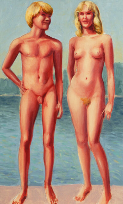Mitch Gillette, 'Adam and Eve (Color Study)', 2001