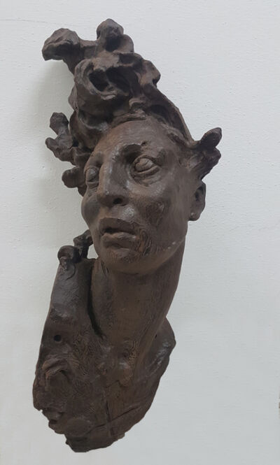 Javier Marin, 'Maqueta cabeza chico II', 2018
