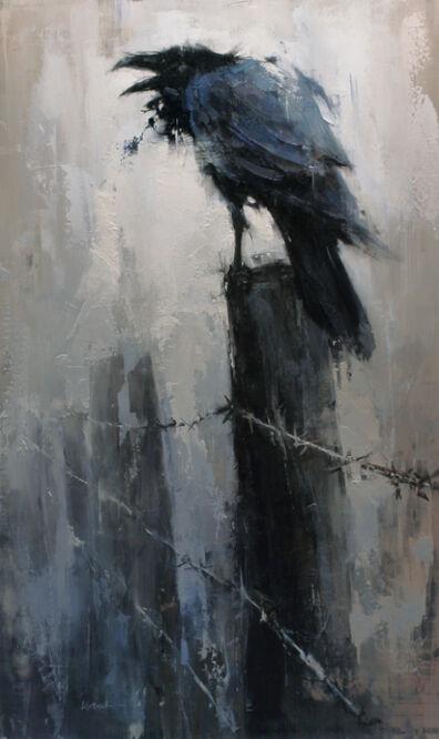 Lindsey Kustusch, 'The Raven's Post', 2015
