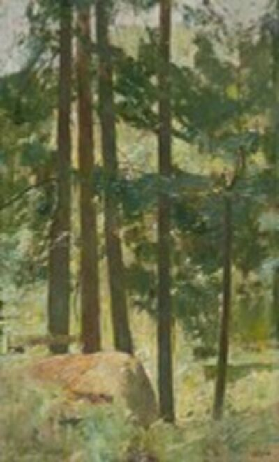 Soren Emil Carlsen, 'White Pine', 1926